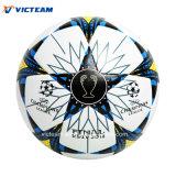Agarre perfecto la textura de cuero de diseño de balón de fútbol ODM.