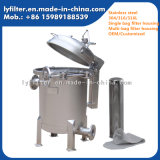 De industriële Huisvesting van de Filter van het Water van de Zak van het Roestvrij staal Multi voor de Behandeling van het Water