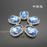 De Juwelen van de manier naaien op de Klauw van het Bergkristal Plaatsend voor Halsband (SW-10*14)