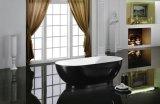 1700mm Negro Satinado Mate&cuartos de baño Bañera acrílica