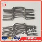 Prezzo Twisted dei collegare del tungsteno della metallizzazione sotto vuoto per chilogrammo
