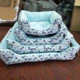 زرقاء شبكة كلب سرير, دافئ محبوب منزل