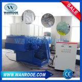 Único Eje de tambor de plástico máquina destructora de Venta caliente