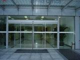 Deur van het Bureau van het Glas van het Profiel van het aluminium de Dubbele Glijdende