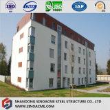 Costruzione/edificio prefabbricati dell'appartamento del blocco per grafici d'acciaio di palazzo multipiano