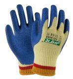 С покрытием из латекса из арамидного Cut-Resistant Anti-Abrasion безопасности рабочие перчатки