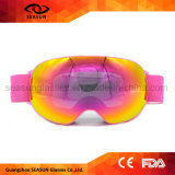 Correa permutable adulta de encargo del protector de ojos del esquí para los anteojos de los deportes al aire libre