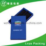 Tortas de papel de color marrón caja de embalaje