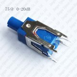 0-20dB 75 equalizador ajustável do atenuador da variável do ohm CATV