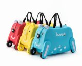 Bubule Hundeentwurf scherzt Spielzeug-Gepäck-Kasten-Beutel-leichten Kind-Verschluss-Koffer-Schule-Laufkatze-Beutel