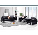 Klassischer Entwurf des Executivtypen Leder-Sofa für Warteraum