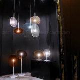 La lámpara colgante ligera pendiente más nueva del diseño moderno de 2017 LED para la decoración