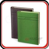 Notebook empresarial de couro planejador do Organizador Personalizado