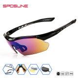 Revestimento UV Lentes espelhadas400 óculos de óculos para pesca, escalada, condução