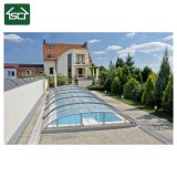 Melhor cobertura piscina de policarbonato/ Capota moldura em alumínio exterior Enclosure