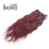 Una clip riccia crespa superiore da 20 pollici nelle estensioni dei capelli di Remy