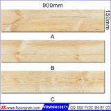 Keramische hölzerne Fußboden-Fliese für das Aufbauen von Mateial (VRW9N15071, 150X900mm)
