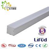Una buena calidad 1200*65*63mm LED Luz lineal 30-40W con 3 años de garantía