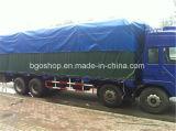 Duurzaam Waterdicht pvc Met een laag bedekt Geteerd zeildoek voor de Dekking van de Vrachtwagen