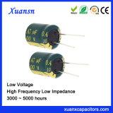 De lage Hoge Frequentie van de Condensator van het Voltage 100V Elektrolytische