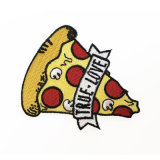 Venda por grosso de alimentos de alta qualidade da marca de logotipo personalizado Patches bordados