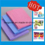 WegwerfSpunlace nichtgewebte Putztuch-Tisch-Abwischenund Wäsche-Wischer