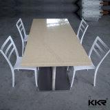 A Kkr resistência a arranhões Topo da Pedra de quartzo mesa de jantar redonda