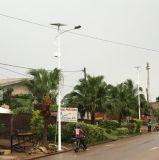 indicatore luminoso di via solare di 30W 60W 90W 100W LED