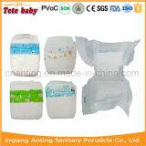 2017 Novo Fraldas para bebés descartáveis, na fábrica de Quanzhou Fraldas para bebés