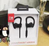 L'écouteur stéréo Powerbeats3 de Bluetooth de subwoofer bas bat la radio d'écouteur