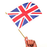 La mano dell'Inghilterra inbandiera la piccola bandierina d'ondeggiamento per la tazza di mondo (YH-HF020)