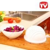 野菜サラダスライサーのカッターボールプラスチック創造的なサラダ切断ボール