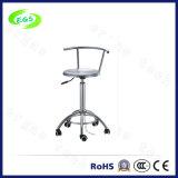 Antistatischer Edelstahlcleanroom-Schemel u. Stühle (EGS-3324-B2BB)