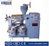 Fresadora del petróleo de la máquina de la prensa de petróleo de cacahuete del girasol del tornillo