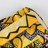 A cópia africana Kitenge do projeto do ODM veste saias Maxi das mulheres por muito tempo