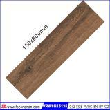 Azulejo de suelo de cerámica de madera (VRW8N15135, 150X800m m)