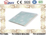 2016 Nouvelle conception de marbre plafond PVC-PVC carte du panneau mural