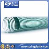 Boyau spiralé de débit d'aspiration de PVC d'helice