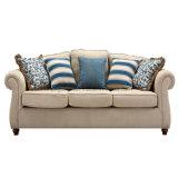 Fácil limpieza Hotel sofá de tela para Comedor (por lo-01)