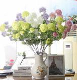 Le mariage fleurit le Hydrangea artificiel de mariage de l'Irlande de Hydrangea artificiel bon marché en soie de bouquet de mariage du Canada de la Zambie