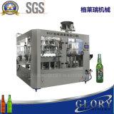 Máquina de Llenado automático de la botella de cerveza con anillo tirar pulsando Capping