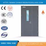 Tipo doble puerta clasificada de la hoja de la madre y del hijo del fuego de acero