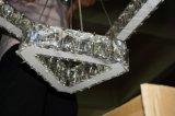 Comedor Porject Cristal y Acero Inoxidable colgante de LED de luz (KA10183)