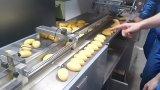 Machine à emballer de flux pour le pain, savon, denrée, chocolat Ald-450f