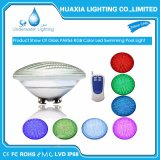 Luz subacuática impermeable de la piscina de IP68 24W 12VAC PAR56 LED con teledirigido