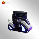 De in het groot 3 Schermen die het Spel van het Ras van de Auto van de Spelen van de Arcade van de Simulator van de Machine rennen
