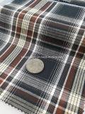 Betriebsbereites Gewebe-Baumwollgarn 100% färbte Twill-Check Fabric-Lz7130