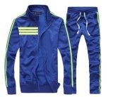 При работающем двигателе полосами Zip контакт костюм мужчин беговая дорожка Sport Jacket костюм