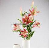 Por ocasião de casamento e flores decorativas & Coroas Tipo Tigre Artificial Lily