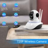 Cámara sin hilos del IP 720p de WiFi de la cámara infrarroja de la cámara 1.0MP del CCTV de la seguridad casera